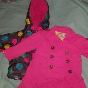 Toddler Jackets size 12 months